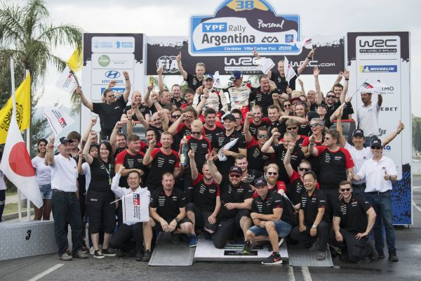 Masterful Tänak off the mark for Toyota with Argentina cruise