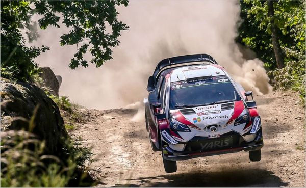Toyota Yaris WRC's Lappi and Latvala push on in Portugal