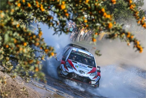 Tänak and Toyota add to their Argentina advantage