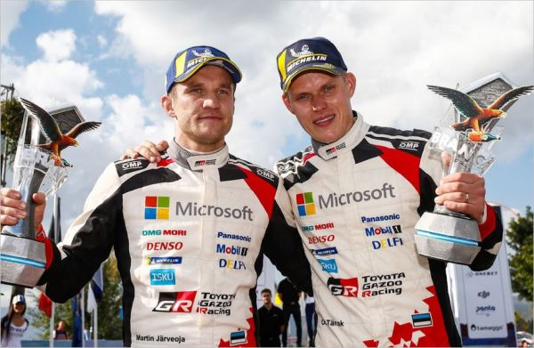 Tänak and Toyota triumphant together in Argentina