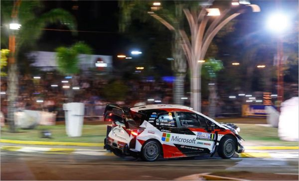A positive start for Toyota in Argentina