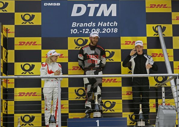 Audi Serial winner at Brands Hatch