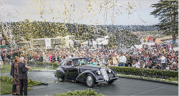 Originality and Innovation celebrated at Pebble Beach Concours d'Elegance®