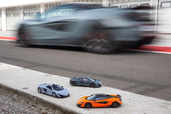 Curate you own McLaren Collection as new 600LT joins scale models