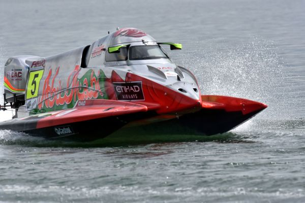 UIM F1H2O Agile Grand Prix of Xiangyang qualifying classification and standings