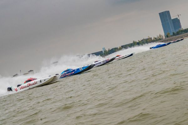 UIM XCat Hangzhou GP race 2 result and overall standings