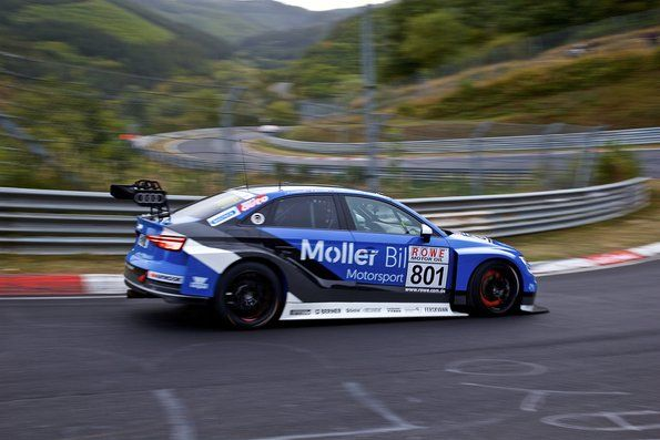 Second place on the Nordschleife