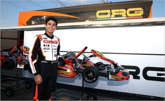 CRG at the WSK Final Cup in Lonato