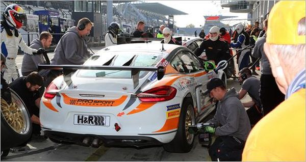 PROsport Performance Successful VLN completion: Four A permits and trophies