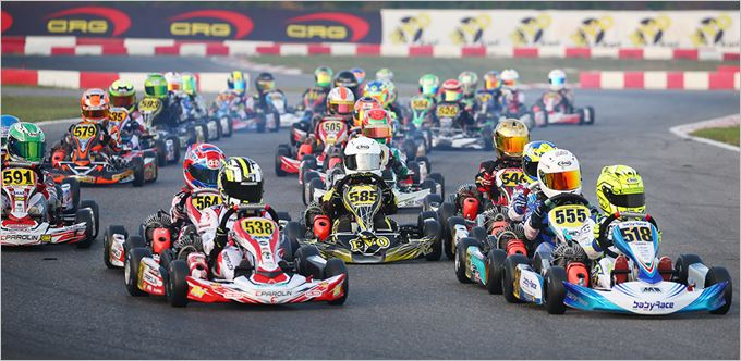 WSK Final Cup at South Garda Karting in Lonato with several F1 names