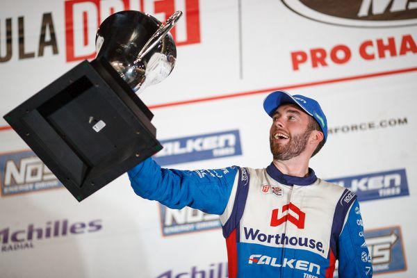 James Deane is crowned Formula Drift Pro Champion 2018 in thrilling season finale