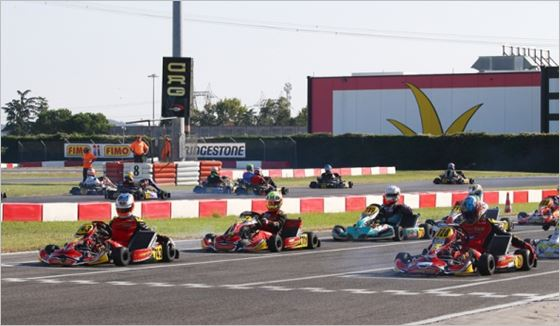 Maranello Kart dominates KZ2 at the opener of the Autumn Trophy in Lonato