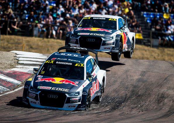 Rallycross: first overseas round for EKS Audi Sport