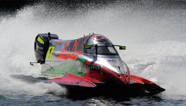 UIM F2 EDH Norway Grand Prix  results and overall standings