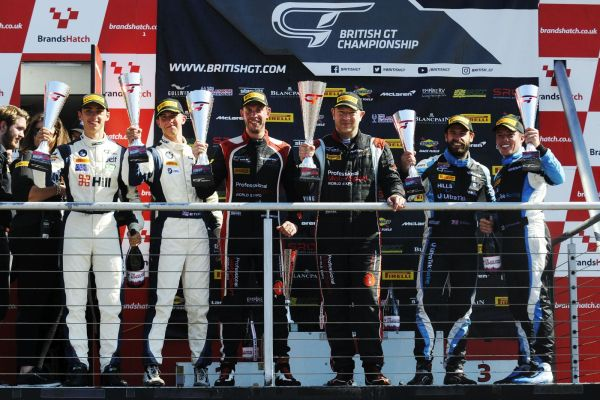 British GT4 - Century's late surge not enough to Deny Balfe