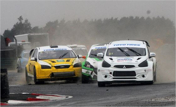 Godfrey moves into British RX points lead with Croft victory