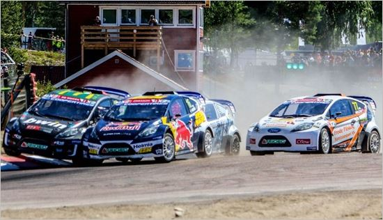 Transatlantic test for rallycross' future stars as RX2 title tussle intensifies