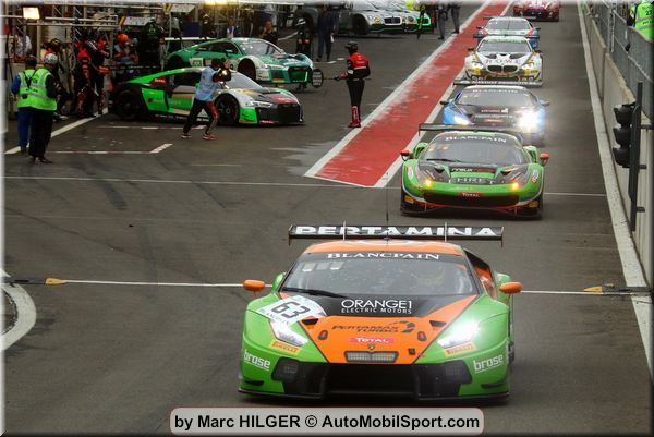 The GRT Grasser Racing Team: Total 24h of Spa, Update 1