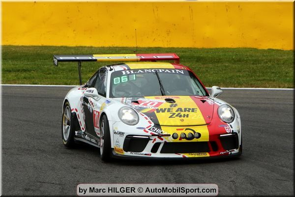 24h Spa:  Luxembourg driver Bob Wilwert with Speed Lover 70 Porsche win