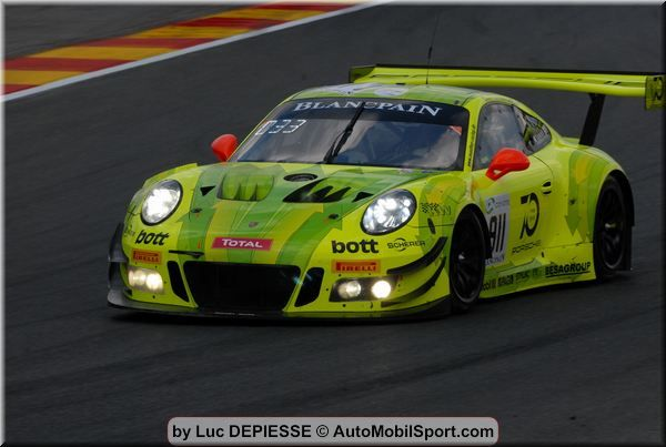 Best Porsche 911 GT3 R takes up 24h Spa from sixth grid row