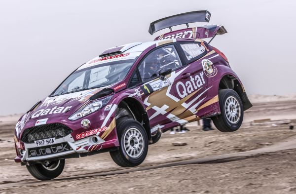 Nasser Saleh Al-Attiyah survives the carnage to lead the Kuwait Rally