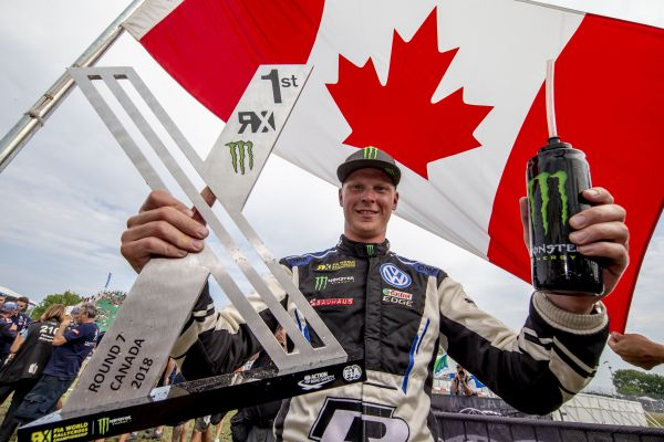 WRX: Sixth win of the season! Johan Kristoffersson unbeatable again in Canada