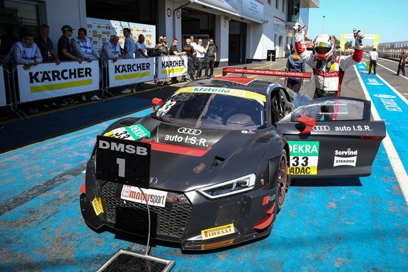 Audi Sport customer team ISR from Prague wins in ADAC GT Masters