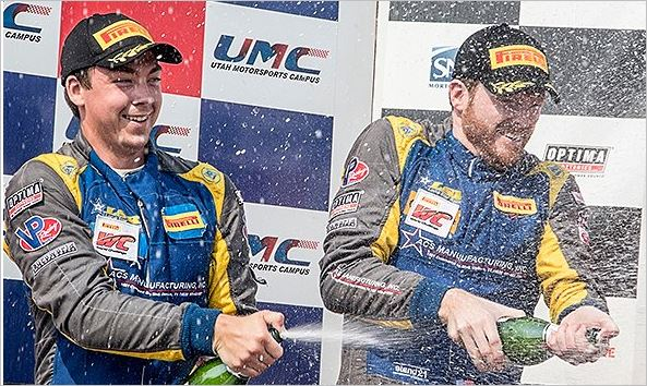 Double-Podium Weekend for ACS Manufacturing/Lone Star Racing