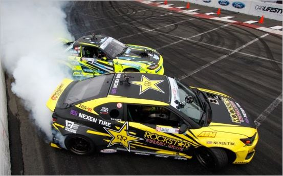 Nexen Tire Motorsports Team at Formula Drift at Madison, Illinois