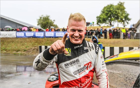 Comeback King Linnemann Rules RallyX Nordic on Home Soil in Nysum