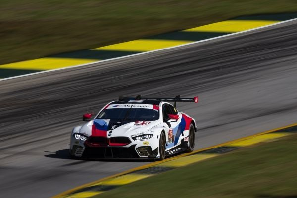 Alexander Sims secures fourth place at Road Atlanta