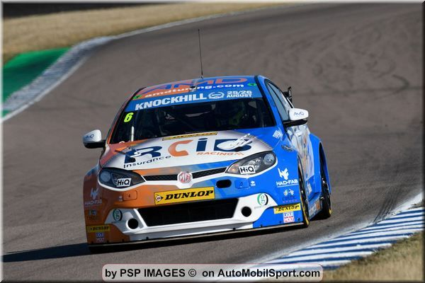 AmD with AutoAid/RCIB Insurance Racing out to impress in BTCC finale
