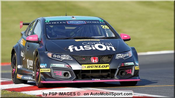 Daniel Lloyd banks the points at BTCC season finale