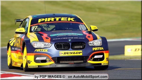 Andrew Jordan and Pirtek Racing secure podium finish from BTCC finale