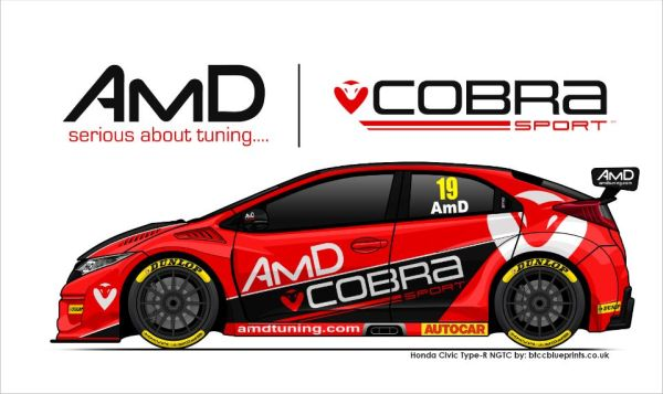Cobra Sport AmD Racing reveals Honda BTCC programme