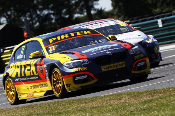 Andrew Jordan and Pirtek Racing target winning end at Brands Hatch
