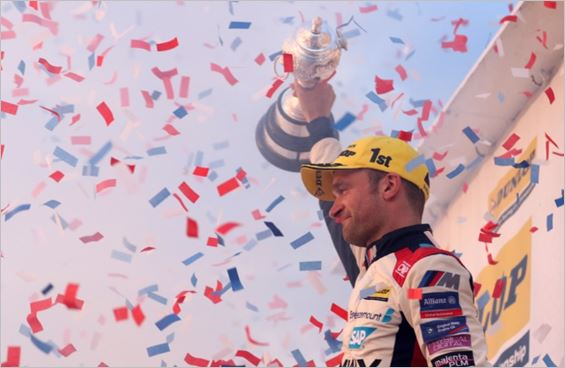 Colin Turkington crowned triple BTCC Champion