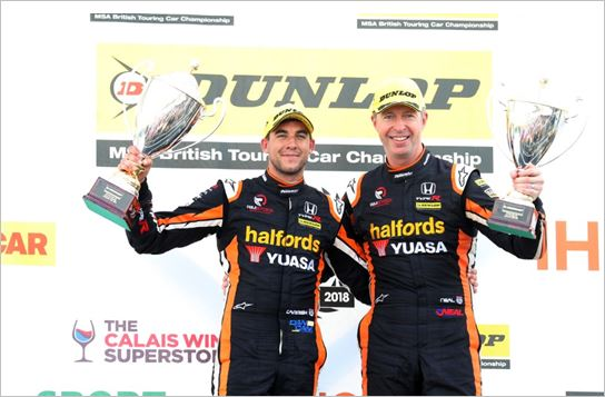 Honda storms to double 1-2 as Cammish clinches first BTCC victories in supreme style