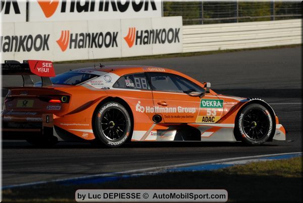 DTM Hockenheim II Free Practice 3 classification