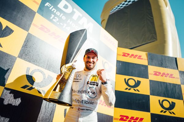 Title treble for Mercedes-AMG: Gary Paffett is DTM champion for second time