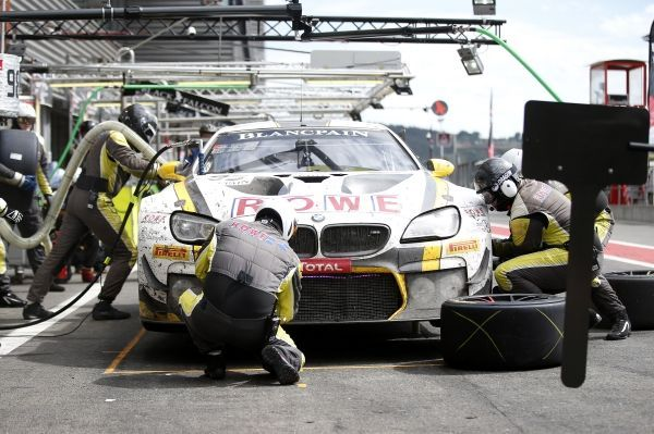 24 Hours of Spa-Francorchamps Details of BMW pitstops