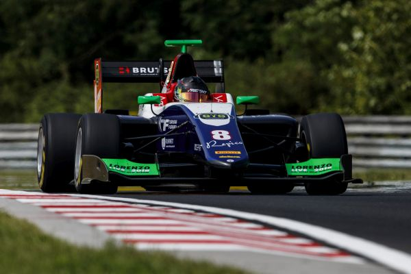 Beckmann darts to top of GP3 Free Practice in Hungary