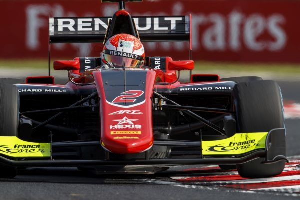 Hubert storms to GP3 pole in Budapest qualifying