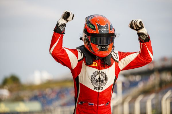 Mazepin dominates in Budapest GP3 Race 1