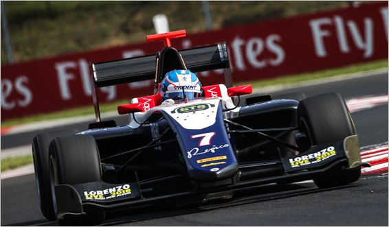 Trident Team GP3 Budapest races review