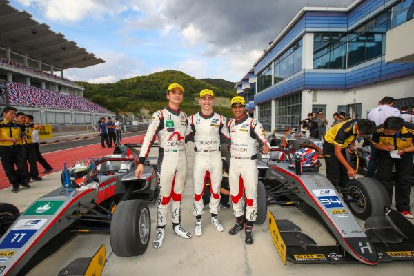 Jakes Hughes strengthens F3 Asia championship lead with win number seven on Ningbo debut
