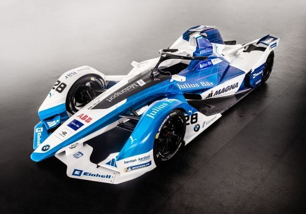 BMW iFE.18 - Full Electric Formula E Car Revealed