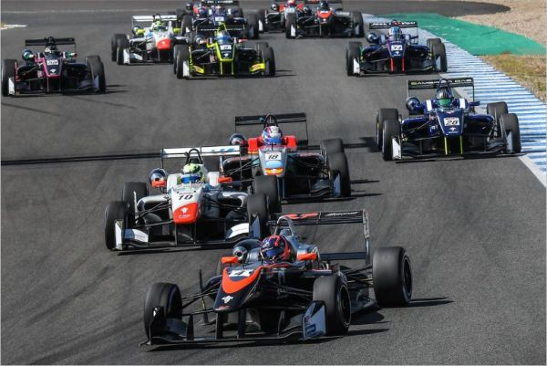 Felipe Drugovich (RP Motorsport) rounds weekend out with second triumph in Jerez