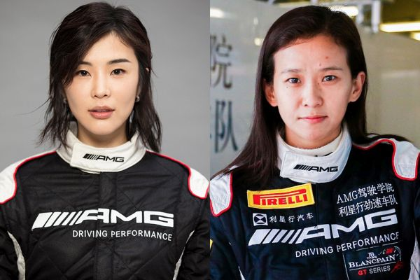 Rosario and Zhang to become first all-female crew in Blancpain GT Series Asia history