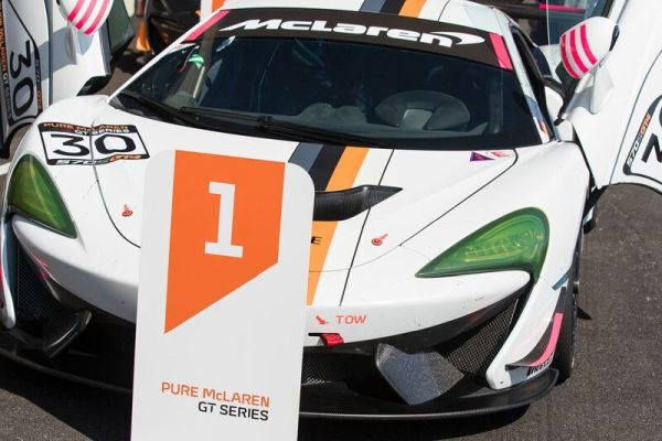 FIA Pure McLaren GT Series travels to Hockenheim